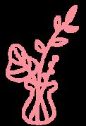 花瓶のイラスト