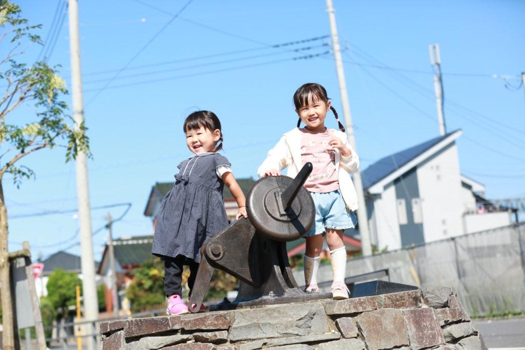 宮代町で遊ぶ子どもたち