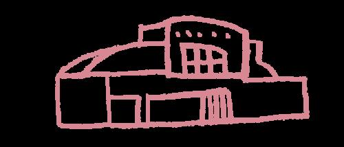 東武動物公園駅のイラスト