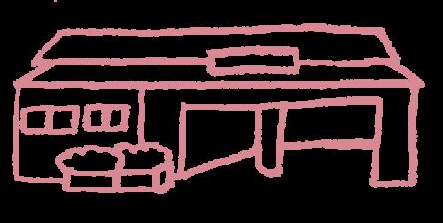 和戸駅のイラスト