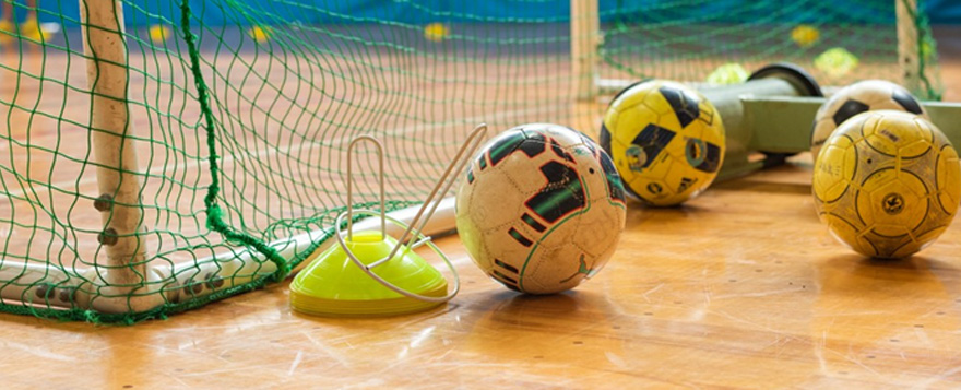 フットサルゴールとボール