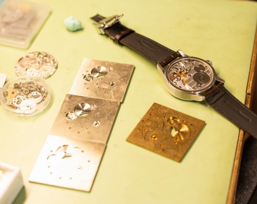 時計製作風景