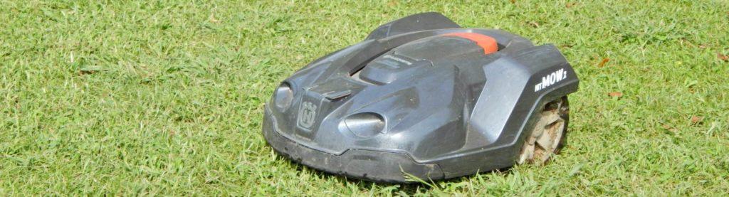 電動芝刈りロボット