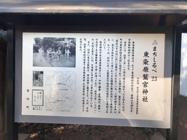 東粂原鷲宮神社