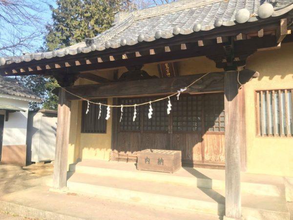 東粂原鷲宮神社本殿