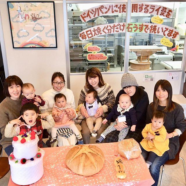 パン教室に参加する親子