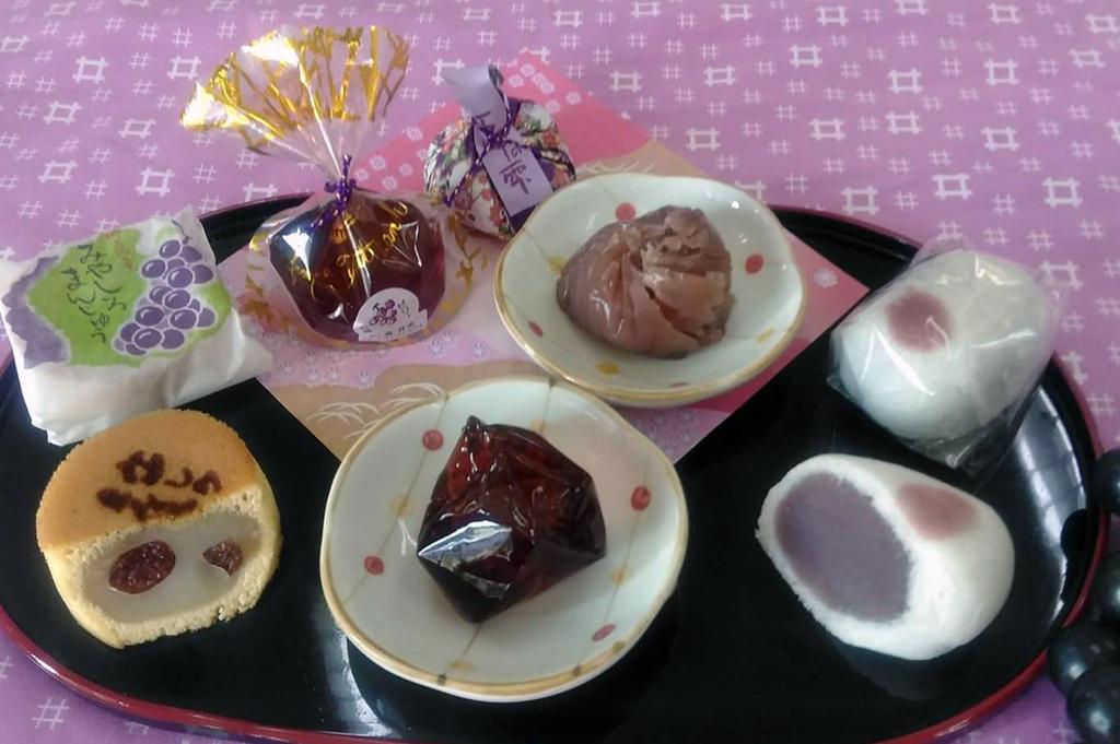 凮月堂の和菓子