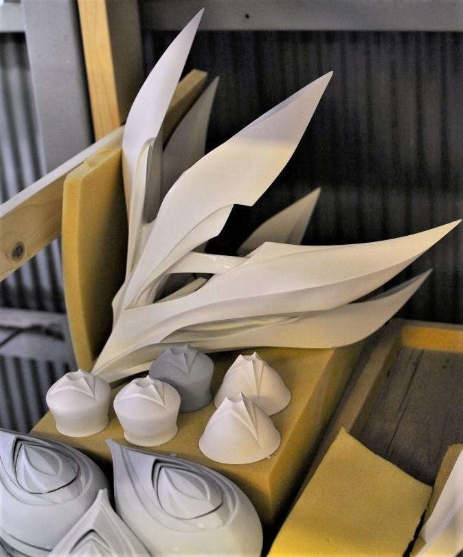 松村 淳さんの作品ー制作過程