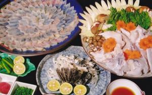 ふぐ料理1人前5,000円(要予約)