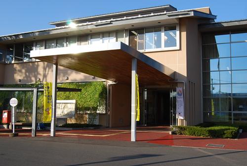 庁舎正面入口
