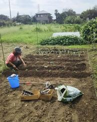 野菜作りを楽しみながら!